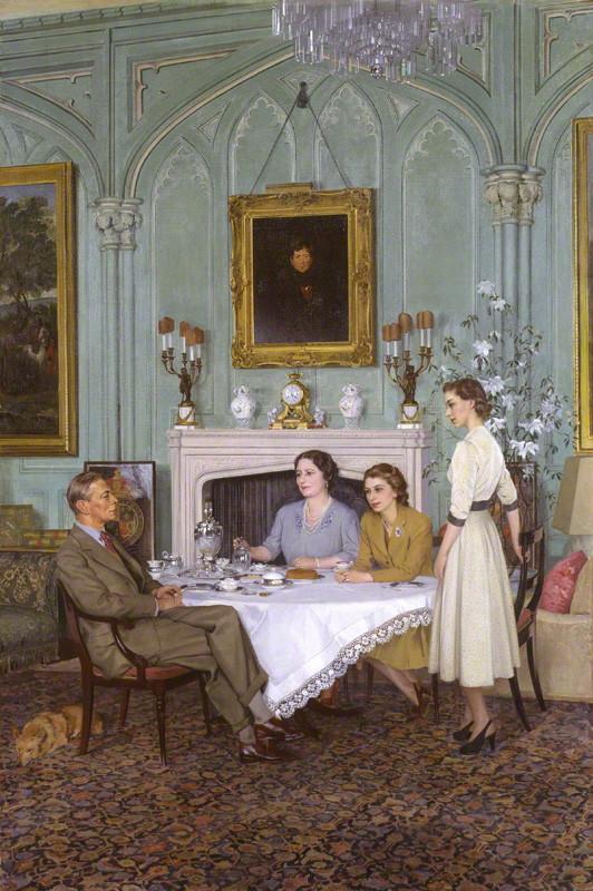 by Sir James Gunn, oil on canvas, 1950