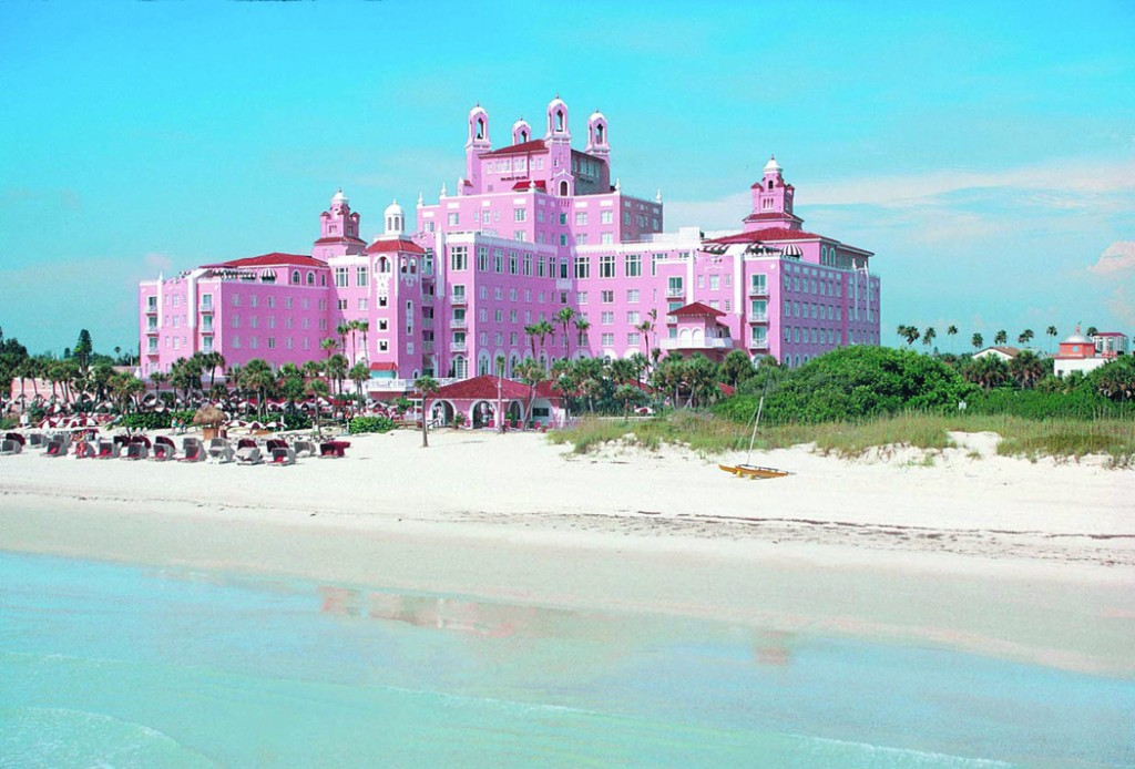 "A member of the Historic Hotels of North America, listed on the National Register of Historic Places and named a historical monument by the National Archives, the Don CeSar is as rich in luxury as it is in history. Originally opened in 1928, the ""Don"" was appropriated by the Military during World War II and eventually abandoned. It was restored to its original glory and reopened in 1973."